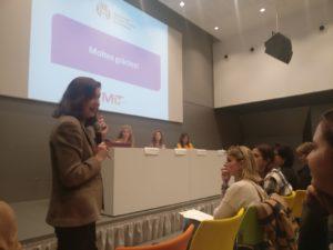 Paloma Villota experta en presupuestos desde una perspectiva de género.
